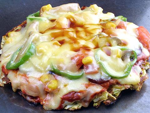 大人気のピザ風焼き