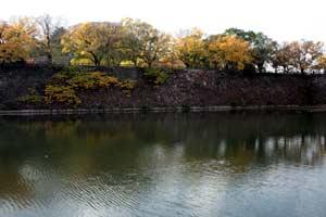 大阪城の堀-1