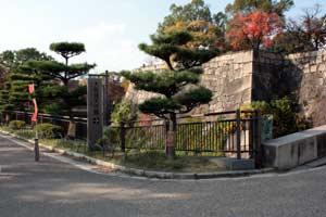 桜門入り口