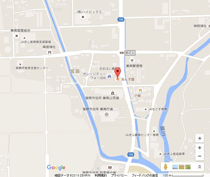 あんず園ーマップ