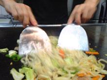 味噌焼きうどんの調理